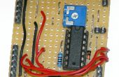 2-draads LCD-interface voor Arduino of Attiny