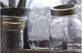 Hoe te hergebruiken glazen potten