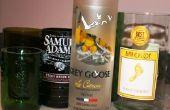 Hoe Upcycle uw vakantie glazen flessen