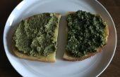 Oprit Pesto en basilicum oprit Pesto