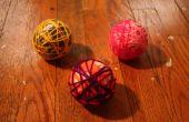 Garen bal ornamenten