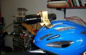 Verstelbare Ski- en fiets helm Mount voor LED zaklamp