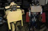 Transformatie van Optimus Prime en Bumblee Bee kostuums 2011
