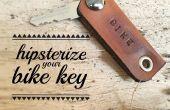 Uw fiets sleutel hipsterize