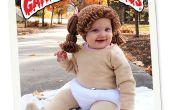 Vuilnis emmer Baby kostuum met Prop