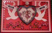 Hoe maak je een Victoriaanse Vintage Cherub Valentine Card