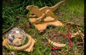 Jura houten Pull speelgoed