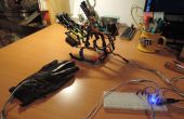 3-fingered Arduino robot hand
