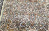 Perzisch tapijt kleurloos en redyed
