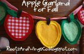 Hoe maak je een Apple Garland voor Fall of terug naar School