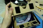 Google karton HMD voor Tablet