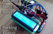 Geanimeerde Sonic liniaal / Parking Sensor met behulp van Arduino