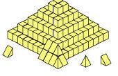 Een volledig nieuwe theorie over de bouw van piramides (voor zover ik weet)