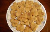 Hart-vormige Crackers