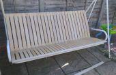Hoe te renoveren een tuin stoel met IKEA bed latten