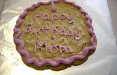 Maken van een Cookie taart