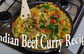Zelfgemaakte Indiase Curry recept