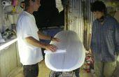 Build A Surfboard Episode 2: Schuren