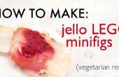 Hoe te maken jello LEGO minifigs