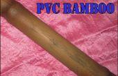Maken van Faux PVC bamboe