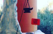 Coyote en roadrunner geïnspireerd Vogelhuis/waterbak