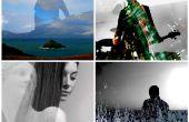 Maken van een artistieke dubbele blootstelling silhouet met Pixlr Editor