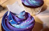 Galaxy thema Cupcakes