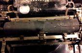 Vernieuwing van een oude schrijfmachine-platen