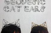 Geodetische kat oren sieraden accessoire