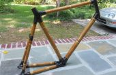 Bouw een fiets van bamboe (en het oplichten!)