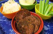 Krokant gebakken Salami--Low Carb & partij glutenvrije Snacks!