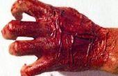 How to make ZOMBIE handen voor Halloween