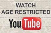 Hoe kijken leeftijd beperkt video's op Youtube