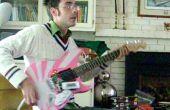 OpenChord.org V0 - bouwen een echte gitaar Guitar Hero/Rock Band Controller