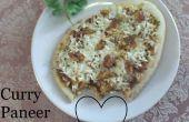 Eenvoudige Curry Paneer Pizza