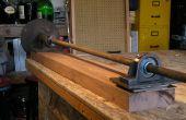 Maken en gebruiken van een hand crank draaibank voor gebruik met een plasma Snijder