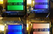 Arduino TFT kleur klok