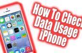 Hoe om te controleren hoe veel gegevens gebruikt op de iPhone 5, 4 AT&T / Verizon