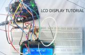Het gebruik van de LCD-display met arduino tutorial