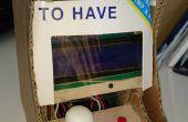 Kleine arcade met mini (ANTI-RAKET-ROBOT _part 3)