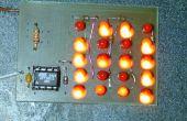 Hoe te rijden een heleboel LEDs uit een paar pennen van de microcontroller.