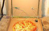Crystal Radio to Go: een draagbare, batterij-minder Crystal-ontvanger in een doos van de Pizza