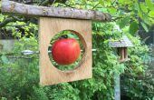 Gerecycled Vogelhuis hout/Offcut