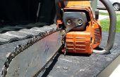 Hoe aan te scherpen een Chainsaw Chain