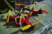 De 240 klasse Lasergesneden FPV Mini-Quadcopter!