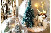 Sneeuw Globe ornamenten - Arctische thema