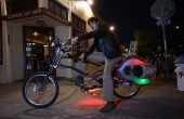 De Choprical vis: een Human Powered partij Bike