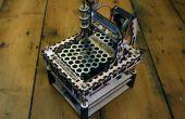 De MicroSlice V1 | Een kleine Arduino laser cutter