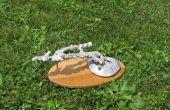 Gieten van een mierenhoop aluminium