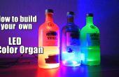 Hoe te bouwen uw eigen LED kleur orgel || Arduino || MSGEQ7